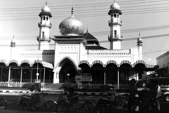 A mosque in Malang, indonesia
