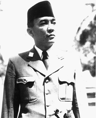 Sukarno, president of Indonesia from 1945 to 1967