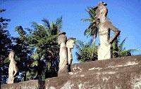Dolman style burial of Raja Lewa, Kambera in the village of Kawangu, East Sumba