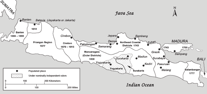 Dutch Expansion in Java, 1619-1830