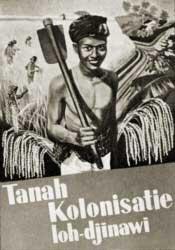 'Colonization Land is Rich'. A propaganda postcard