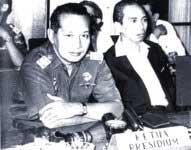Suharto and Adam Malik