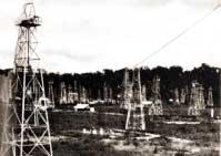 Oil fields at Tarakan