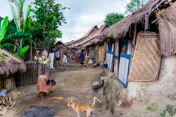 Sade, a Sasak village on South Lombok