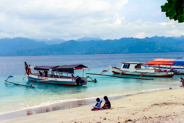 Gili islands, northwest Lombok