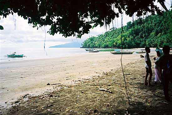 Beach on Sangihe