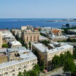 Azerbaijan, Baku. Center of Baku City