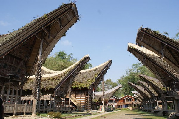 Traditional Toraja House in Kete Kesu Village, Tana Toraja – South Sulawesi
