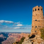 United States, Arizona, Grand Canyon. Winter at the South Rim.
