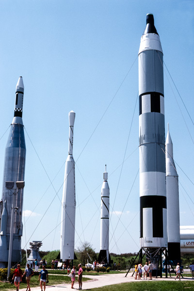 Rocket Garden at the Visitor Complex