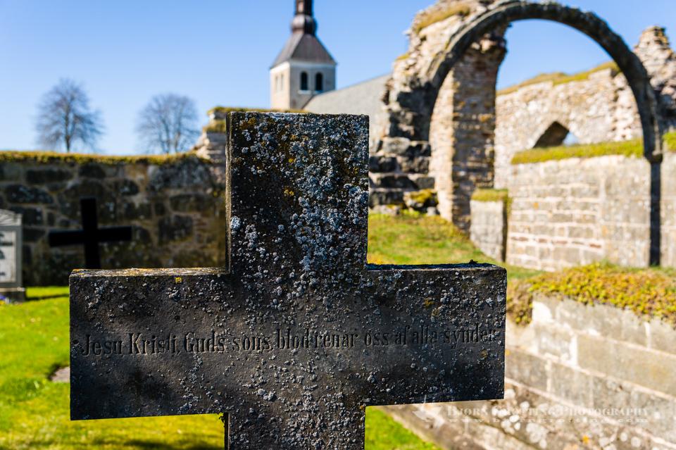 Gudhem Abbey ruins